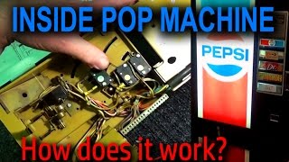 Inside a Drink Machine - How Does it Work?