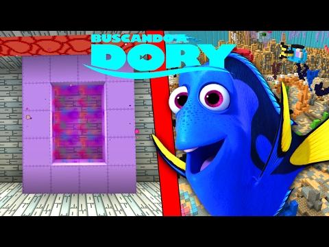 Como Hacer Un Portal A La Dimension De Dory Minecraft Portales A