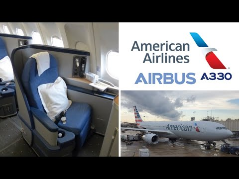 American Airlines Cabin Tour Airbus A330-200 with Premium Economy