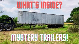 I Bought 2 Mystery Semi Trailers Full Of Cool Stuff. What Did I Find?