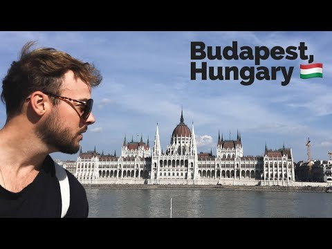 Backpacking Europe 🇭🇺 Tour of Budapest, Hungary