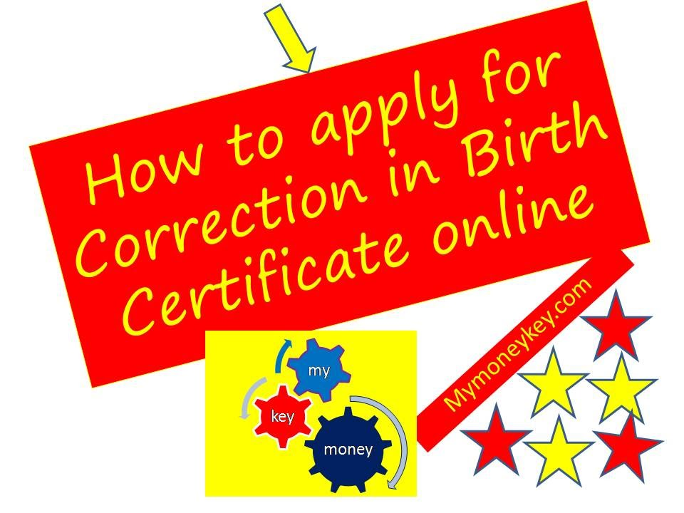 How to apply for date of birth certificate online