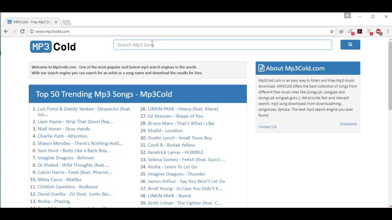 MP3Cold - Free Mp3 Downloads