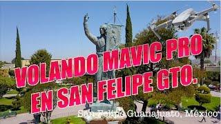 Volando Mavic Pro en San Felipe Guanajuato México
