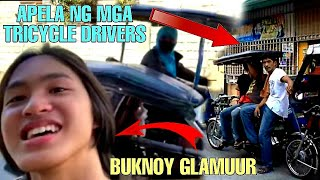 BUKNOY GLAMUUR KINONTRA NG MGA TRICYCLE DRIVERS,  REAKSYON NG TRICYCLE DRIVERS KAY BUKNOY GLAMUUR