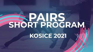 LIVE Pairs Short Program Kośice 2021