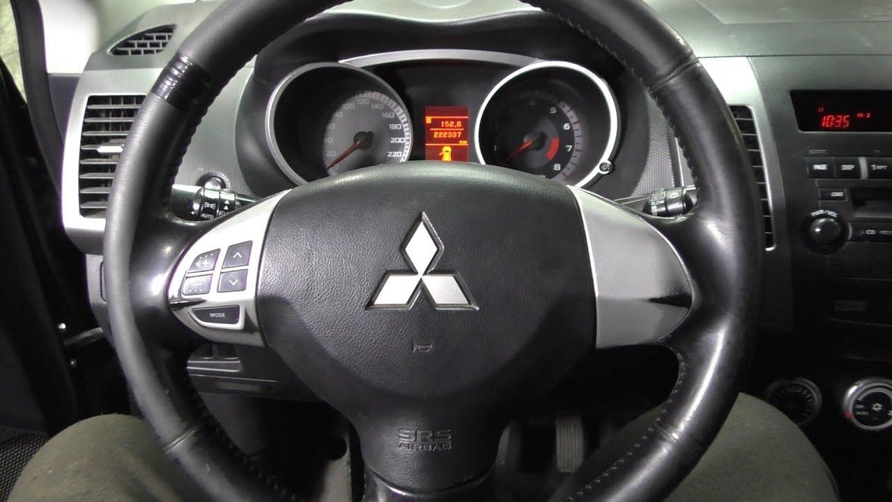 Mitsubishi Outlander XL - Ремонт подрулевого шлейфа