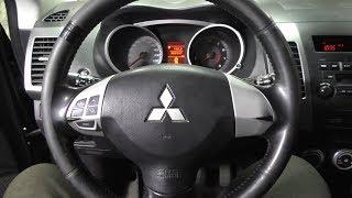 Замена подрулевого шлейфа Mitsubishi Outlander XL 8619A018 как снять руль и подушку безопасности .