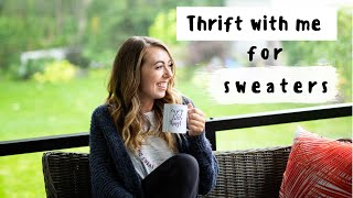Come THRIFT WITH ME for FALL SWEATERS