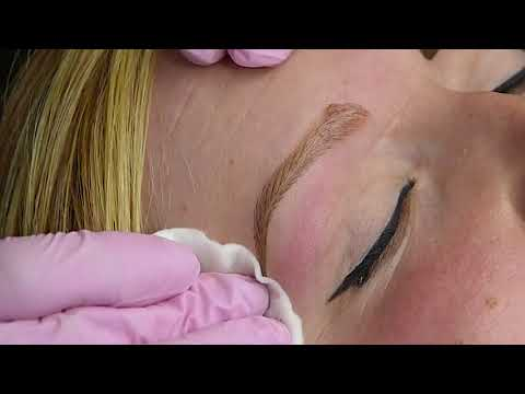 BALTIC BROWS master Rena Sõmer_Microblading for client with alopecia