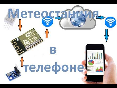 Как сделать Wifi метеостанцию для телефона