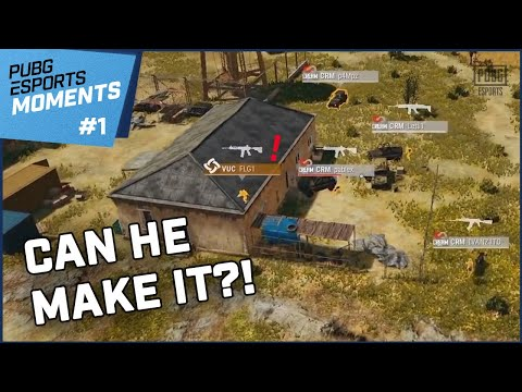 Can He Secure His House?! L PUBG Esports Moments #1