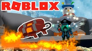 REMOVING SNOW WITH A FLAMETHROWER?! WTF 😱 - ROBLOX SIMULATOR OF NIEVES