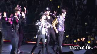 [150711] Korean Music Wave 2011 | GD&TOP - HIGH HIGH