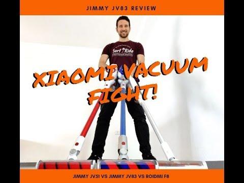 השואב האלחוטי הטוב ביותר? Xiaomi Jimmy JV83 במבחן השוואה!