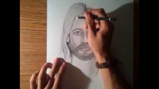 How to draw Jesus, By: Brandon Hodge