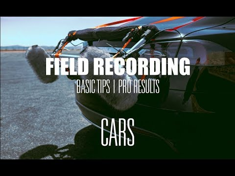 Recording Cars For Hollywood Films, How The Pros Do It