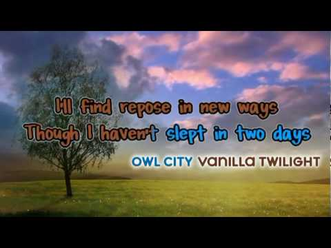 VANILLA TWILIGHT [Karaoke Instrumental]