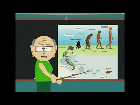 South Park - Ms Garrison Explains Evolution