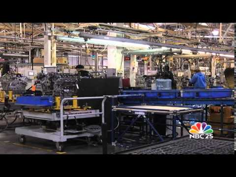 Flint Teens Tour GM Plant on National Manufacturing Day