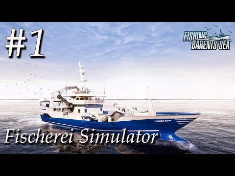 Fischerei Simulator #1 🚢 | Tutorial der Fischkutter vom Opa | Fishing Barents Sea Deutsch | Gameplay