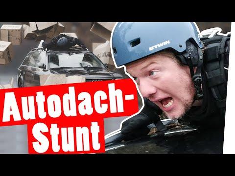 """Bestrafung: Unfreiwillig Stuntman - Marc auf dem Autodach    """"Das schaffst du nie!"""""""