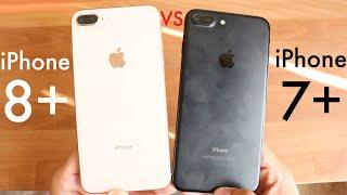 iPhone 7 Plus Vs iPhone 8 Plus In 2019! (Speed Comparison) (iOS 13)