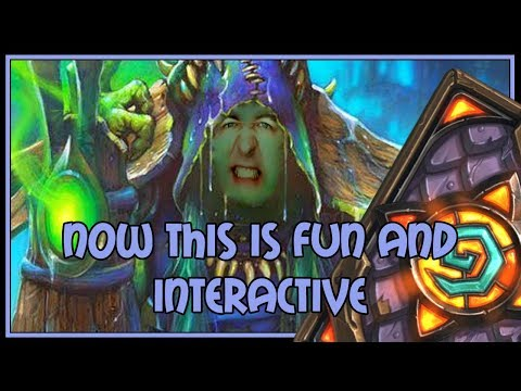 Now THIS is fun and interactive | Shudderwock shaman | The Witchwood | Hearthstone