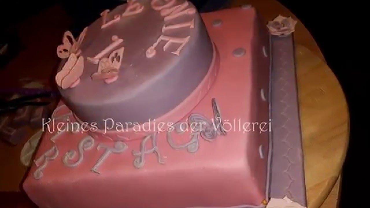 Butterfly Cake Zweistockige Schmetterlingstorte Zum 1 Geburtstag