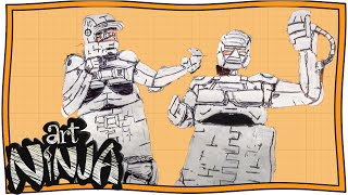 Turn Yourself Into a Robot   Art Ninja   Nugget