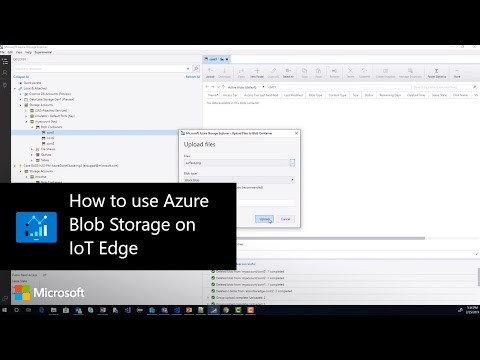 How to use Azure Blob Storage on IoT Edge