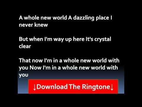 Peabo Bryson and Regina Belle  A Whole New World Lyrics