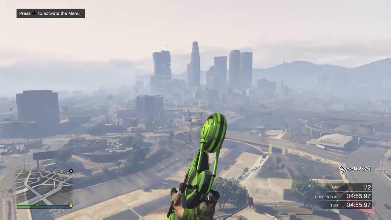 GTA Online Stunt