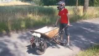Epic Motorized Wheelbarrow, Best One