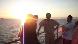 Yasa Eagle Gemisi Güvertede Muhabbet