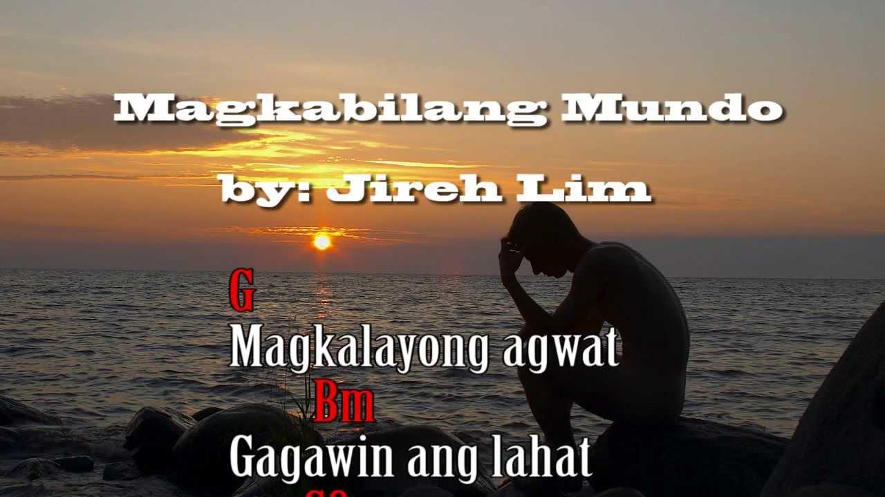 Magkabilang Mundo - Jireh Lim (Lyrics Chords) - YouTube