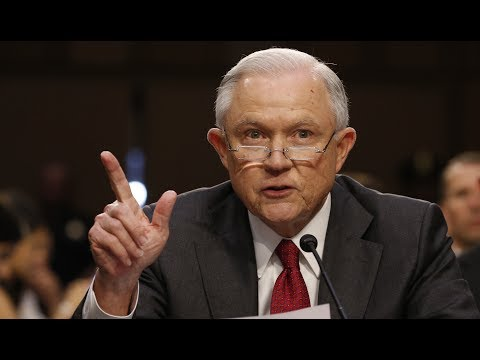 Watch AG Sessions come out swinging in a fiery opening statement