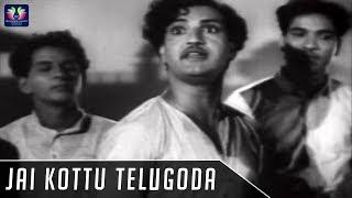 Jai Kottu Telugoda Song | Palletooru Telugu Movie | NTR | Savitri | SVR | TFC Classics