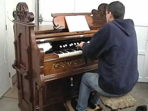 Teach Me Thy Way, O Lord - Hymn - Benjamin M Ramsey - Debut of the D.W. Karn Reed Organ