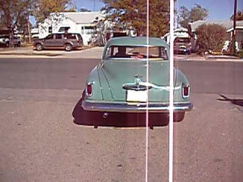 1952 Studebaker Commander Sedan/Coupe-Off Body Rebuild For Sale On ebay On 1/22/13