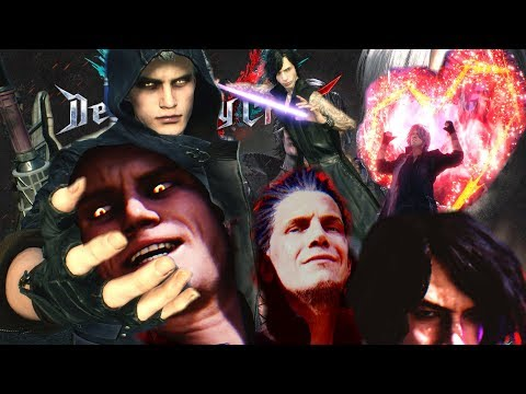 DMC 5 Bloody Palace  NEW UNLOCKED TAUNTS & All Endings      - Devil May Cry 5 thumbnail