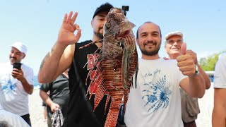 Şampiyonluğu Getiren Dev Aslan Balığı - Yarışmayı Kazandık Ödülleri Kaptık.