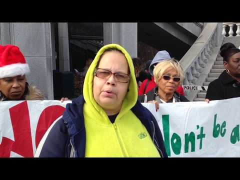 Protesters take aim at Gov. Tom Wolf for treatment of the incarcerated