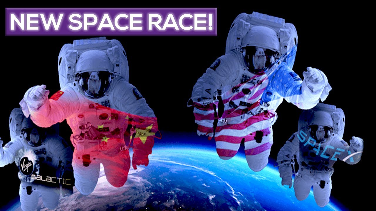 The New Space Race! The Battle Of The Billionaires