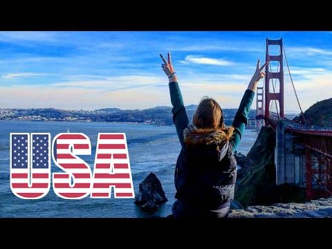 🇺🇸 GOLDEN GATE BRIDGE, San Francisco, California, USA Travel Vlog