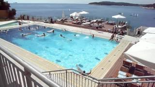Croatia-Istria-Pula-Splendid resort-swimming pool