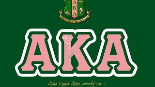 Alpha Kappa Alpha - University of Michigan-Flint - Probate