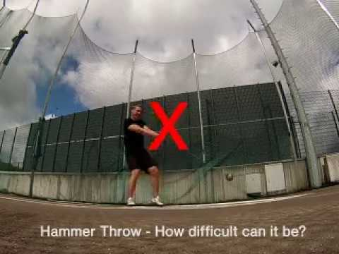 hammer throw HOW DIFFICULT CAN IT BE?