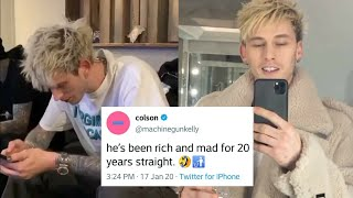 "MGK Reacts To Eminem Diss on ""Music To Be Murdered By"" Album"