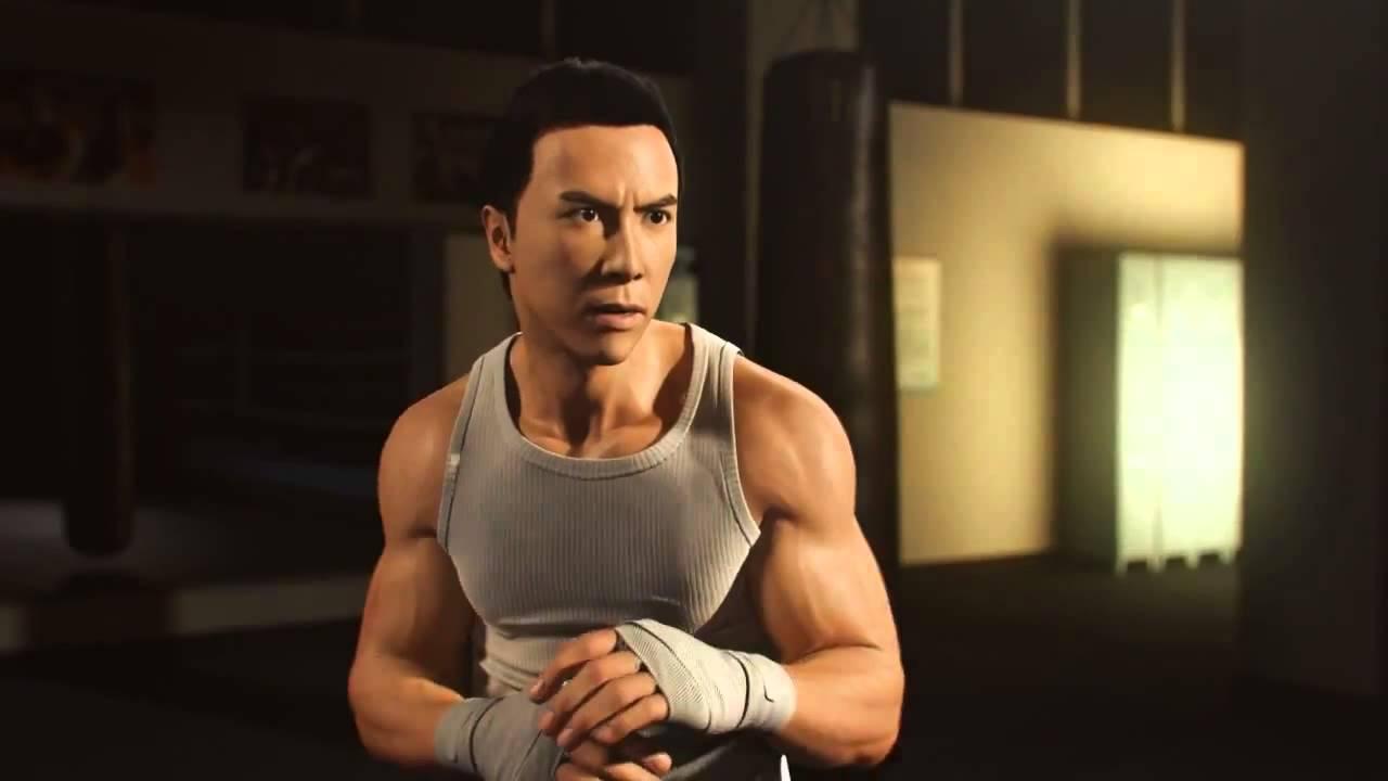 Donnie Yen vs Bruce Le...